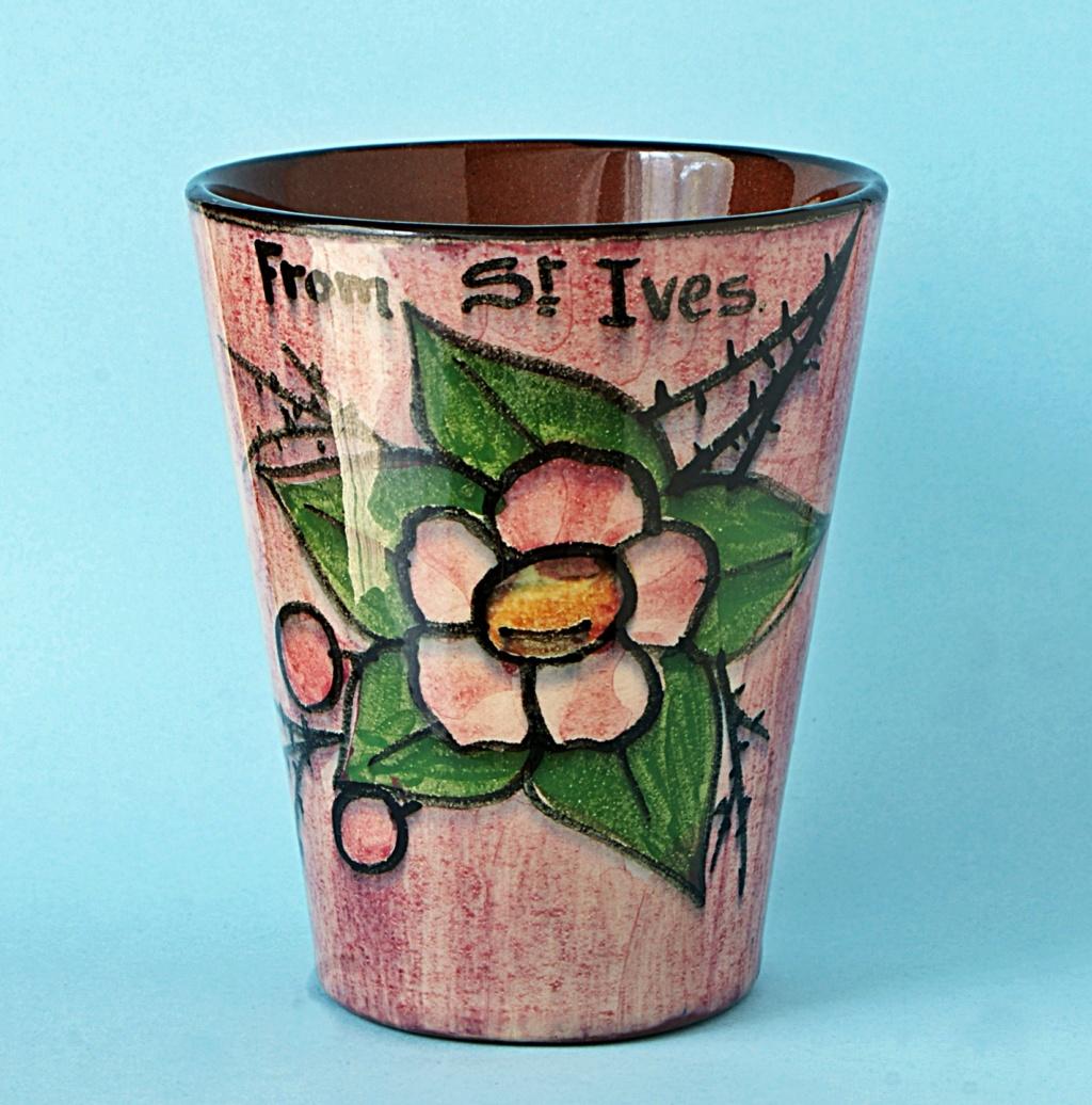 Torquay Pottery Beaker. Dsc04920