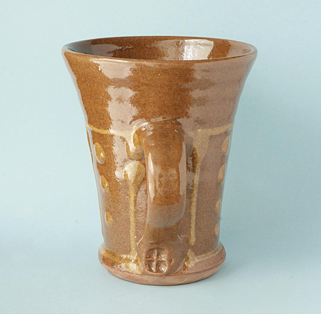 Brown Slip ware Mug. Dsc05011