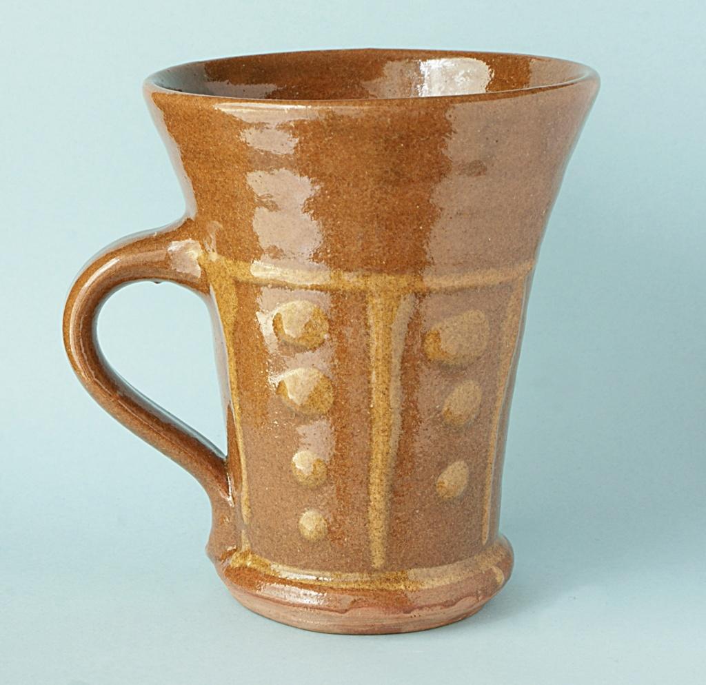 Brown Slip ware Mug. Dsc05012