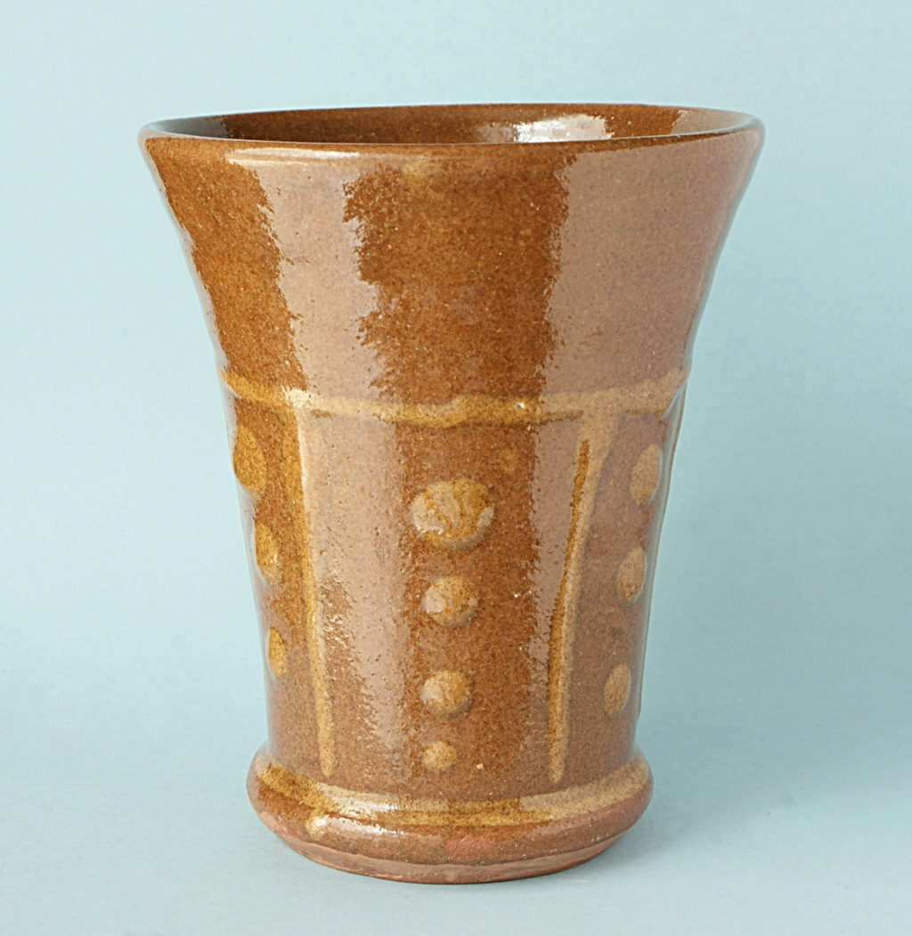 Brown Slip ware Mug. Dsc05014