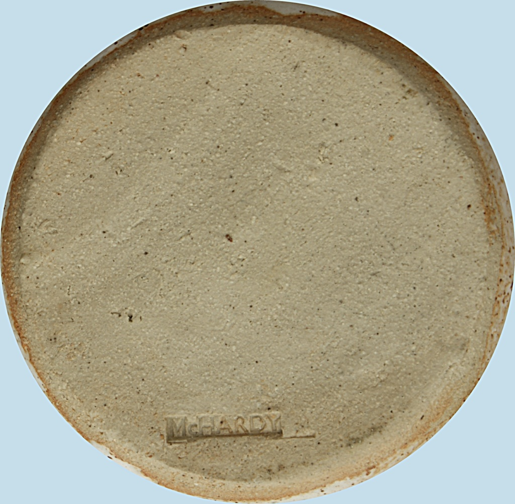 Studio Pottery Squat Vase, McHardy  Dsc05017