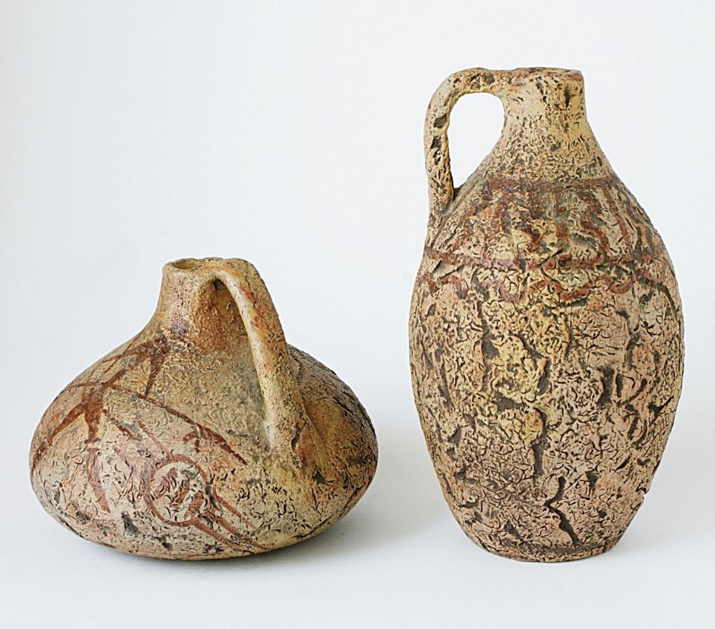 African motif Pottery Dsc05018