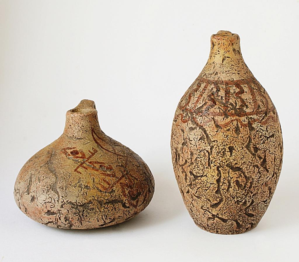African motif Pottery Dsc05019