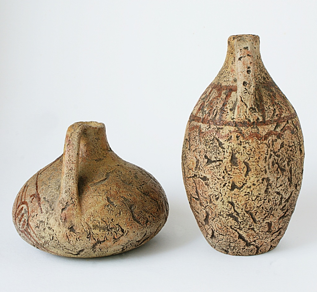 African motif Pottery Dsc05021