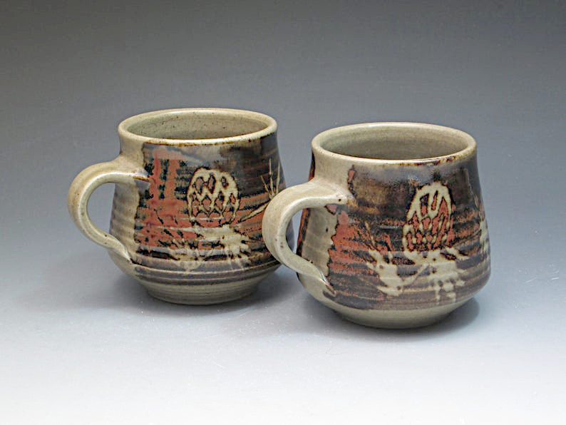 Pair of mugs Stephen Carter of New Zealand. Il_79424