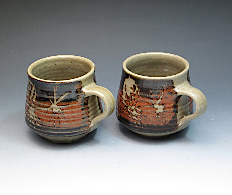 Pair of mugs Stephen Carter of New Zealand. Il_79425