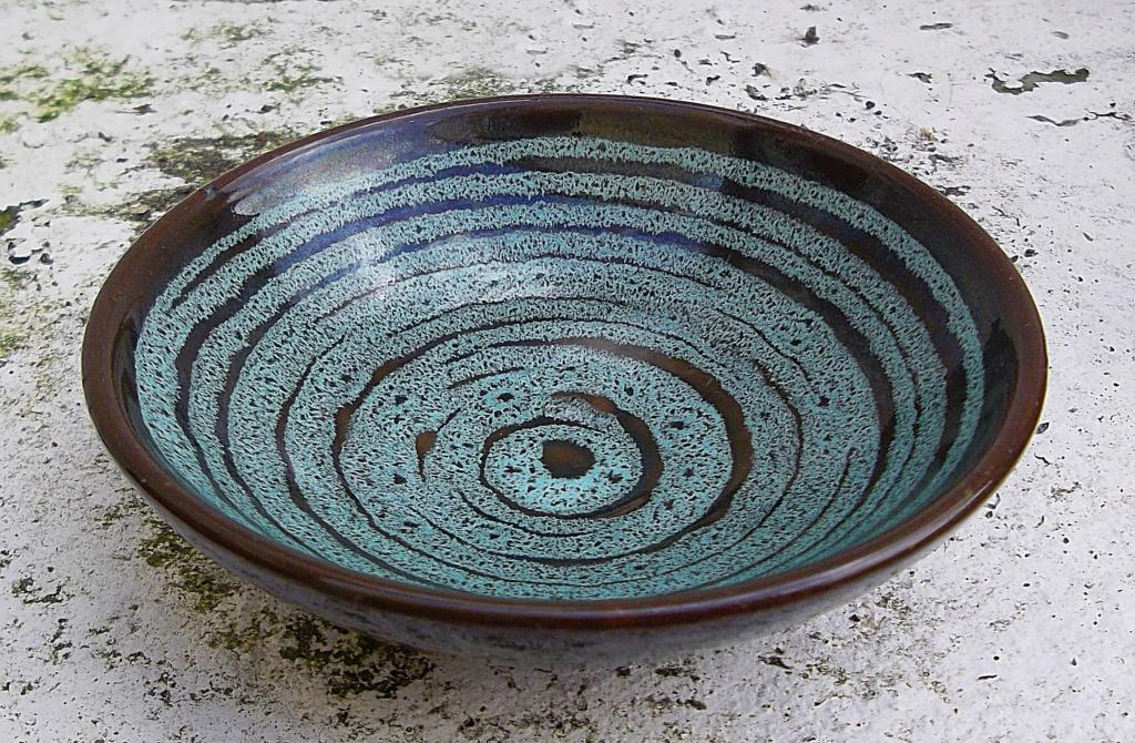 Carkeel Pottery Bowl Saltash Cornwall. Imgp2516