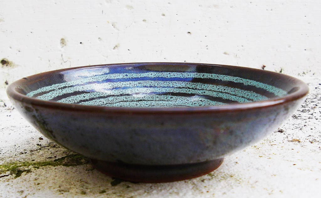 Carkeel Pottery Bowl Saltash Cornwall. Imgp2517