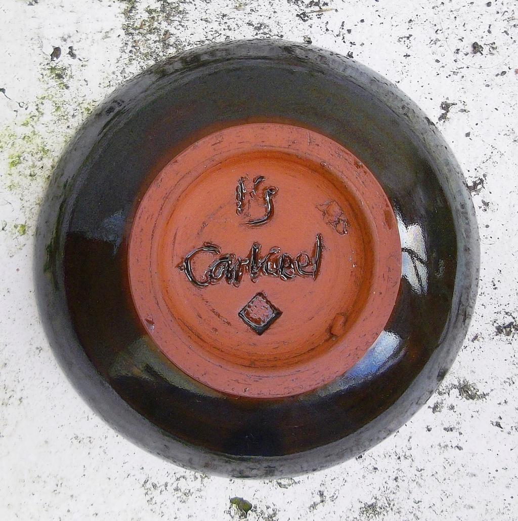 Carkeel Pottery Bowl Saltash Cornwall. Imgp2522