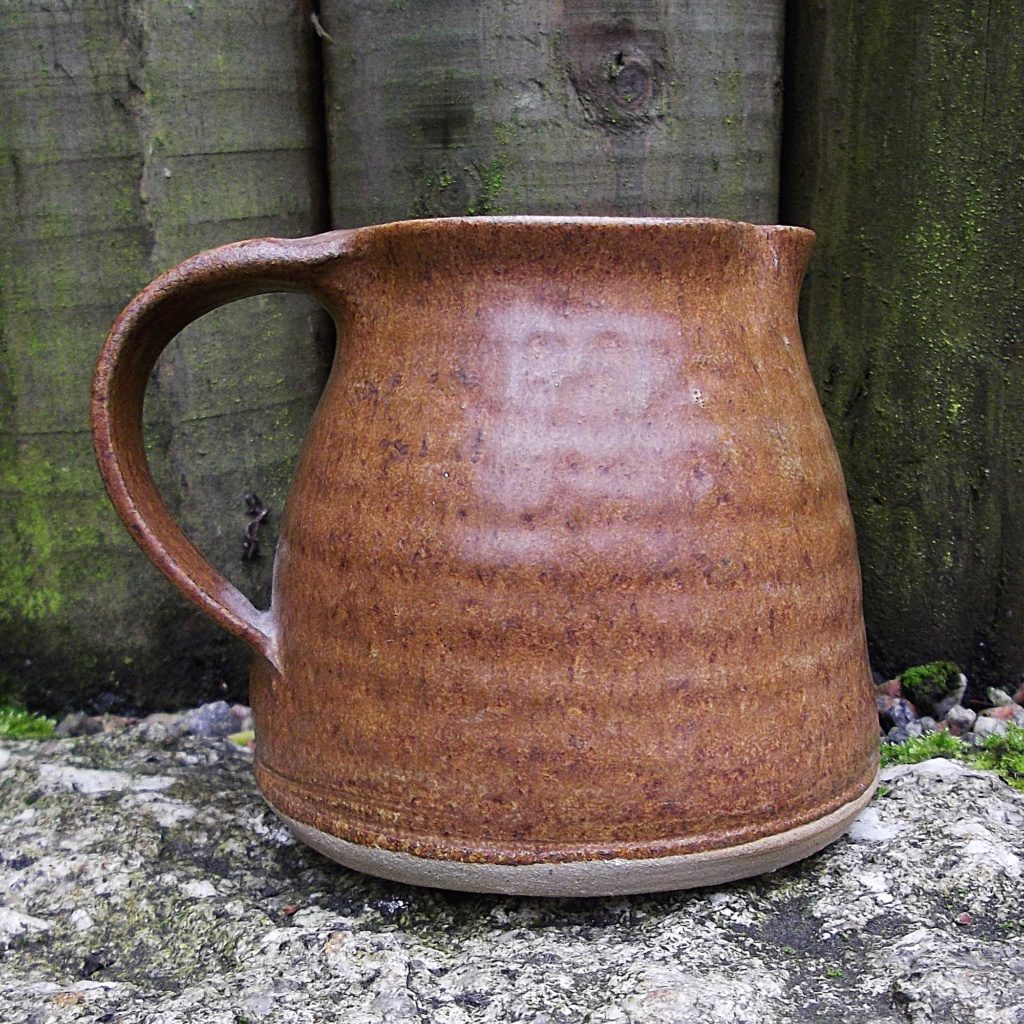 Pottery Jug with IC mark, Cornwall  Imgp2913