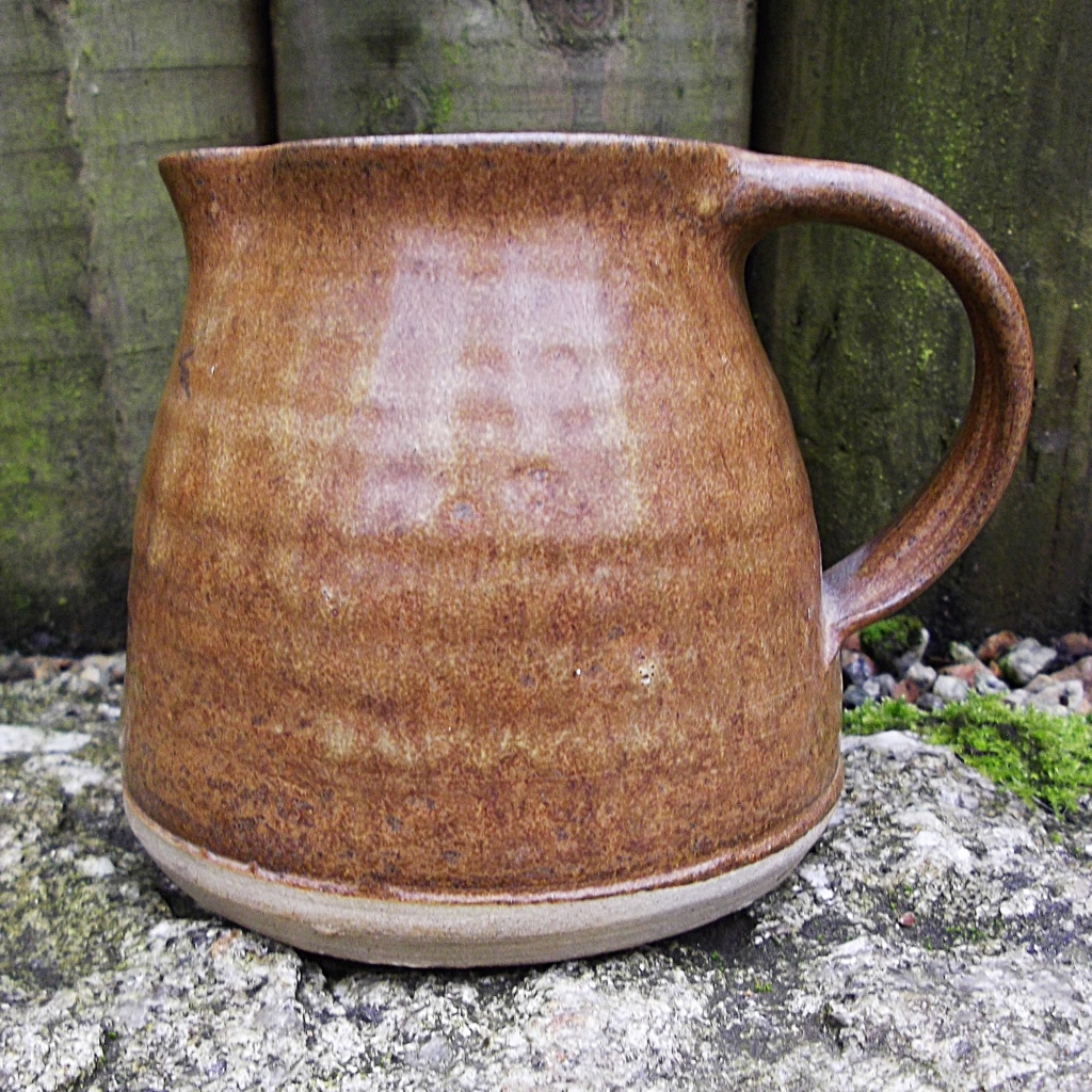 Pottery Jug with IC mark, Cornwall  Imgp2916