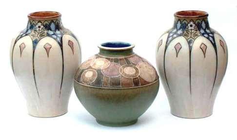 Royal Doulton vase, by Florrie Jones Resize10