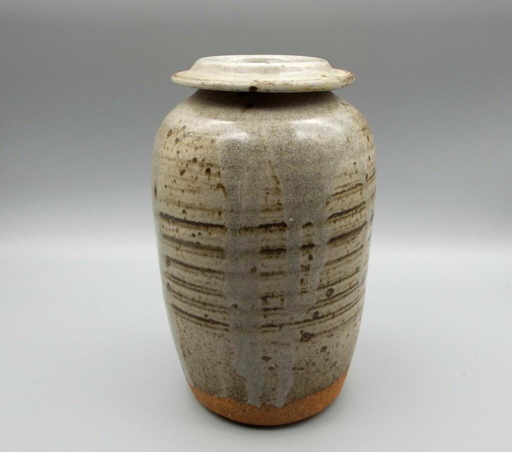 Small Stoneware Pot S-l16015