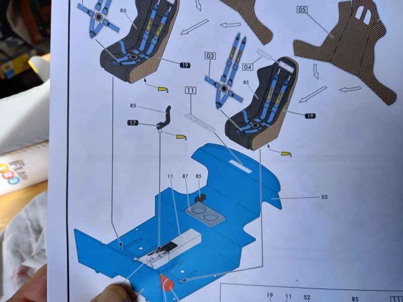 Challenge des 6 ans   SUBARU IMPREZA WRC  1/24 Réf 80761 00836