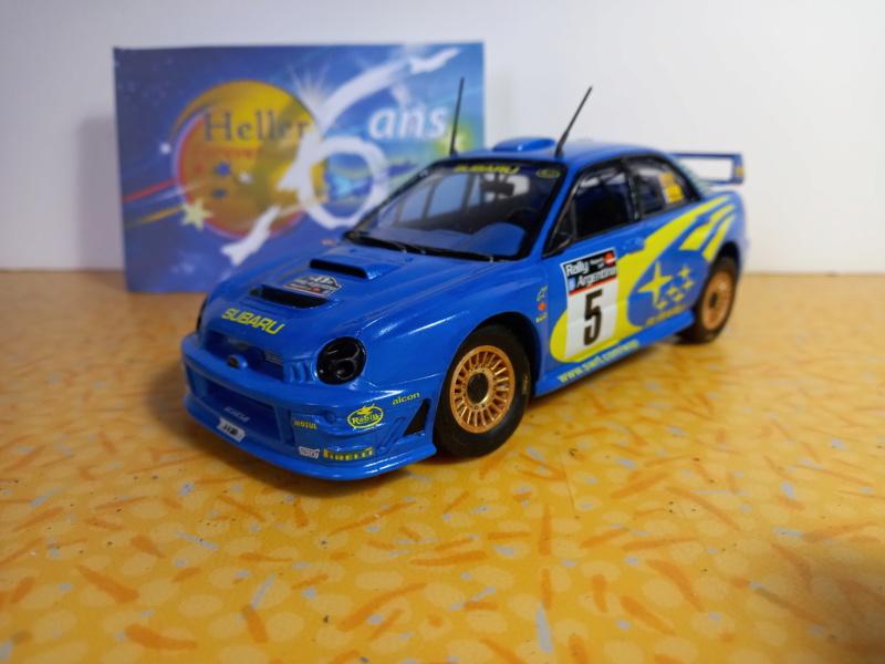 Challenge des 6 ans   SUBARU IMPREZA WRC  1/24 Réf 80761 - Page 4 16181610