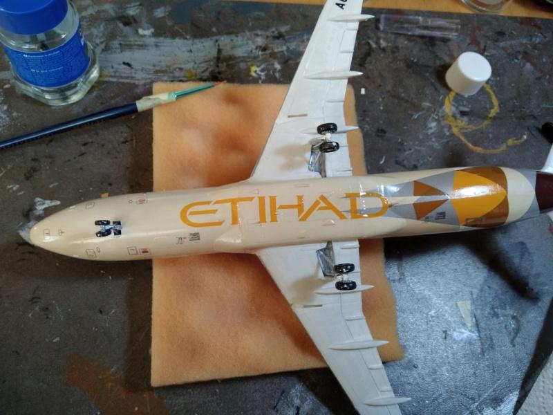 [REVELL] AIRBUS A-320 Cie ETIHAD AIRWAYS 1/144ème Réf 03968  - Page 2 A-320216