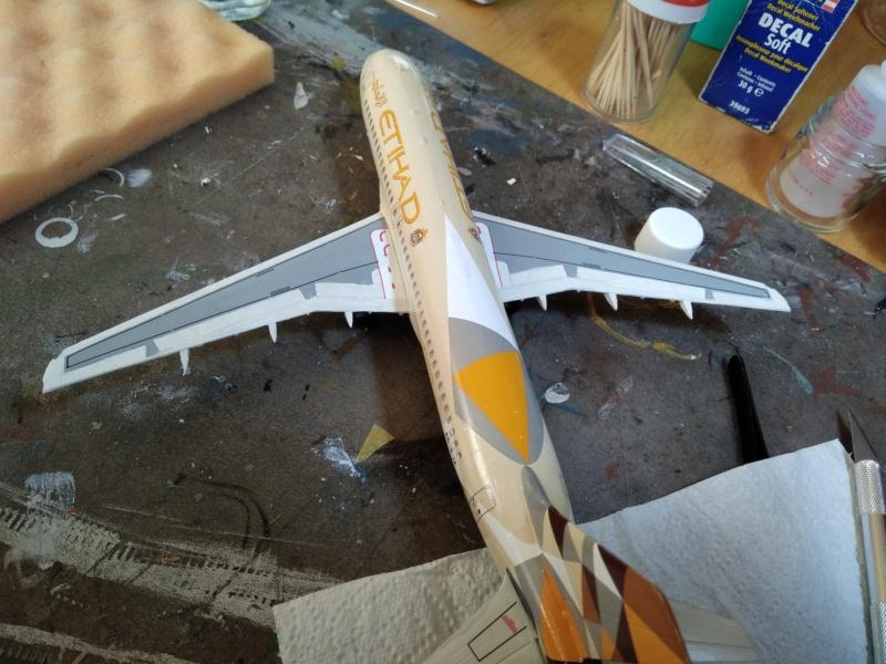 [REVELL] AIRBUS A-320 Cie ETIHAD AIRWAYS 1/144ème Réf 03968  - Page 2 A-320220