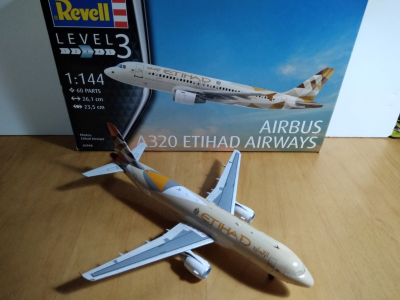 [REVELL] AIRBUS A-320 Cie ETIHAD AIRWAYS 1/144ème Réf 03968  - Page 2 A-320226
