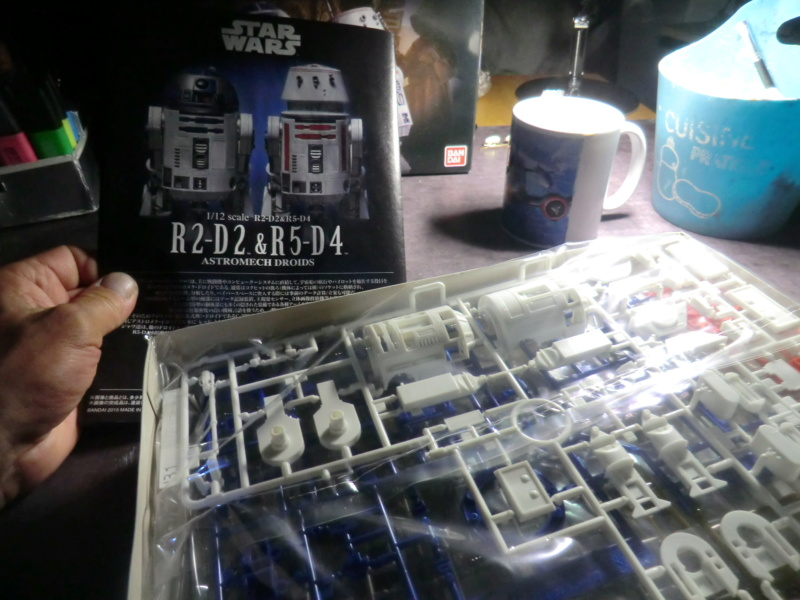 [BANDAI] D2 -R2 / R5/D4 -1/12 Airbu109