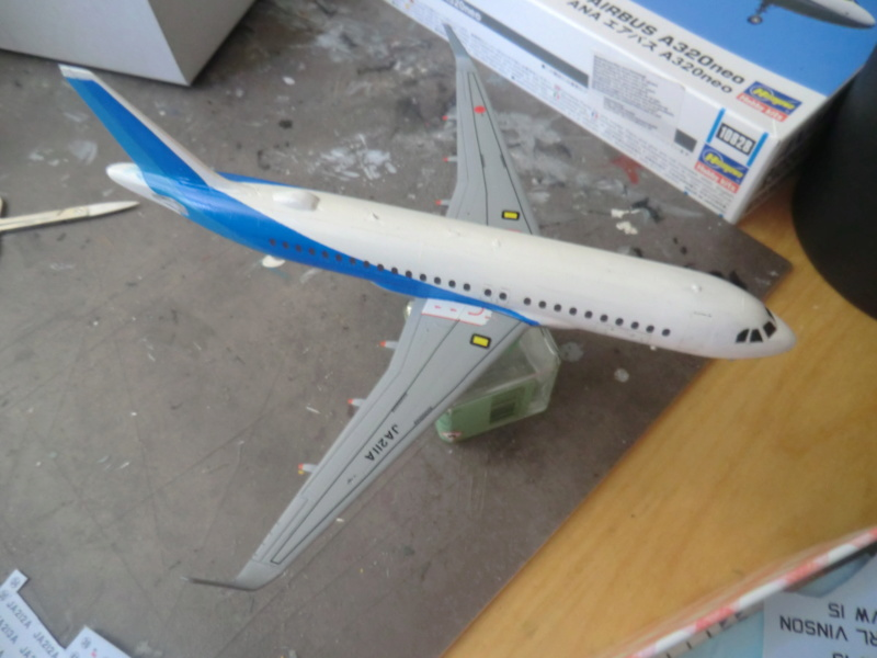 [HASEGAWA] Airbus A-320 néo 1/200 nouvelle déco - Page 2 Airbu143