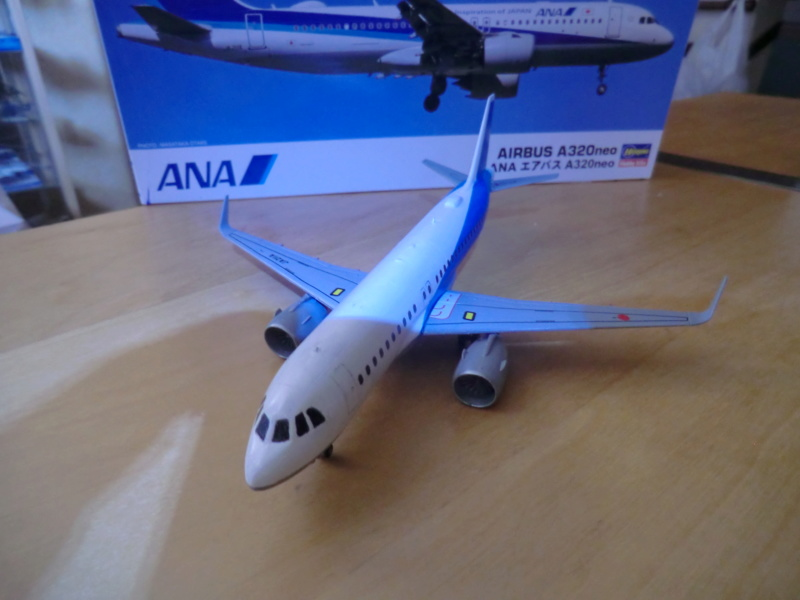 [HASEGAWA] Airbus A-320 néo 1/200 nouvelle déco - Page 2 Airbu151