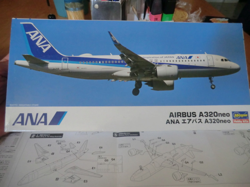 [HASEGAWA] Airbus A-320 néo 1/200 nouvelle déco Airbus16