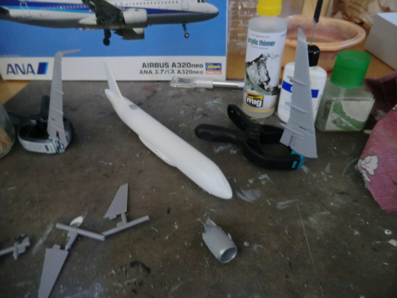 [HASEGAWA] Airbus A-320 néo 1/200 nouvelle déco Airbus52