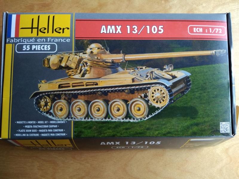 Char AMX 13 canon de 105 Réf 79874 Amx-1311