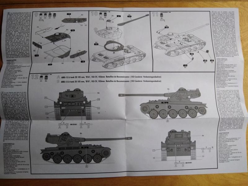 Char AMX 13 canon de 105 Réf 79874 Amx-1314