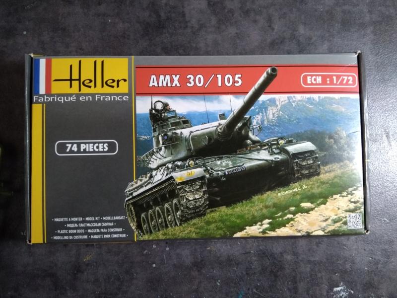 AMX 30/105 1/72ème Réf 79899  Amx-3010