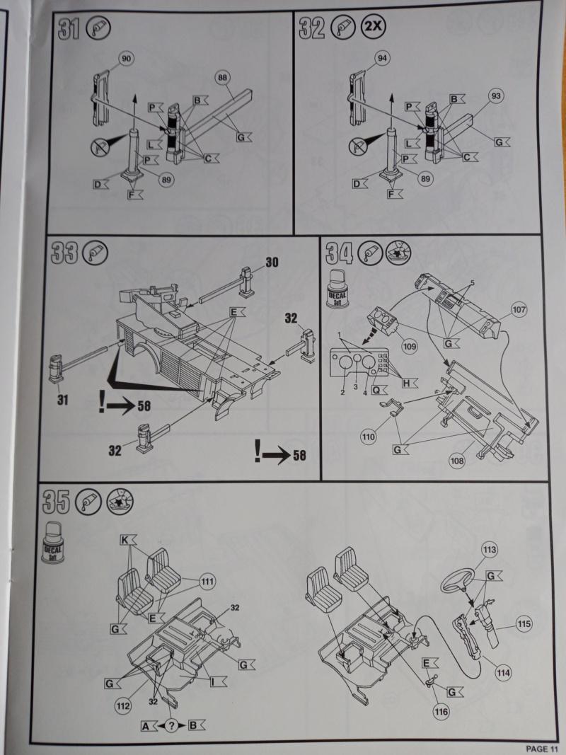 [REVELL] MERCEDES BENZ 1419 F/1422 F DLK 23-12 1/24ème Réf 07504 Edition limité Notice Camio237