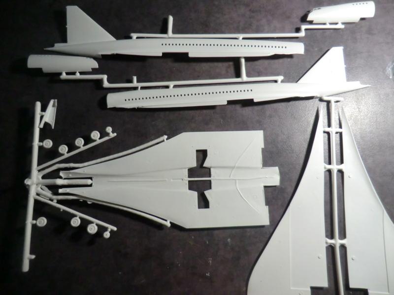 SUD AVIATION - BRITISH AIRCRAFT CORPORATION  CONCORDE 1/144ème Réf 52324 Concor11