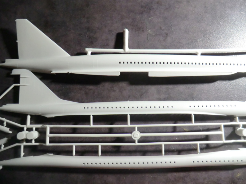 SUD AVIATION - BRITISH AIRCRAFT CORPORATION  CONCORDE 1/144ème Réf 52324 Concor15