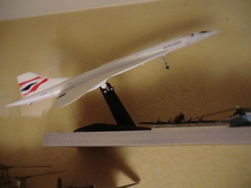SUD AVIATION - BRITISH AIRCRAFT CORPORATION  CONCORDE 1/144ème Réf 52324 Concor16