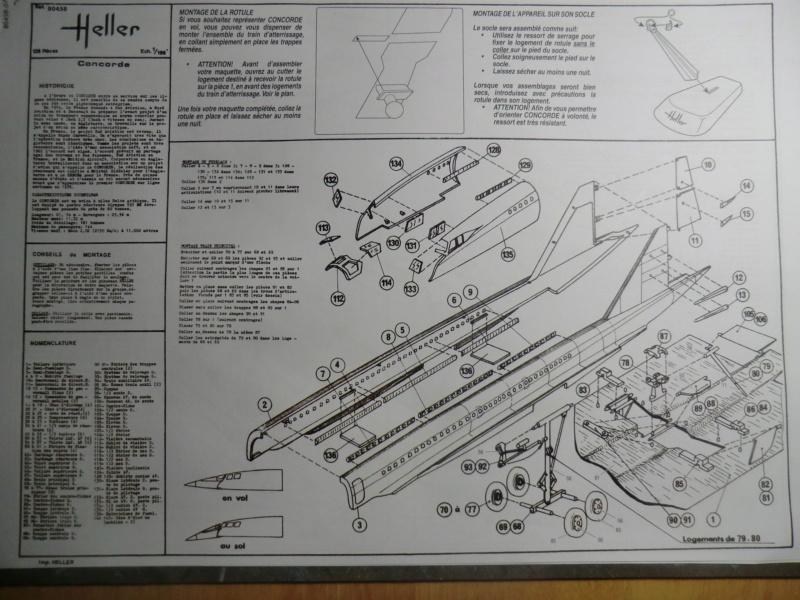 """[1/100]Concorde 001 -ref 52324 coffret """"la légende HELLER"""" 1/100 Concor17"""