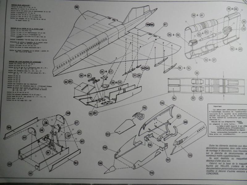 """[1/100]Concorde 001 -ref 52324 coffret """"la légende HELLER"""" 1/100 Concor19"""