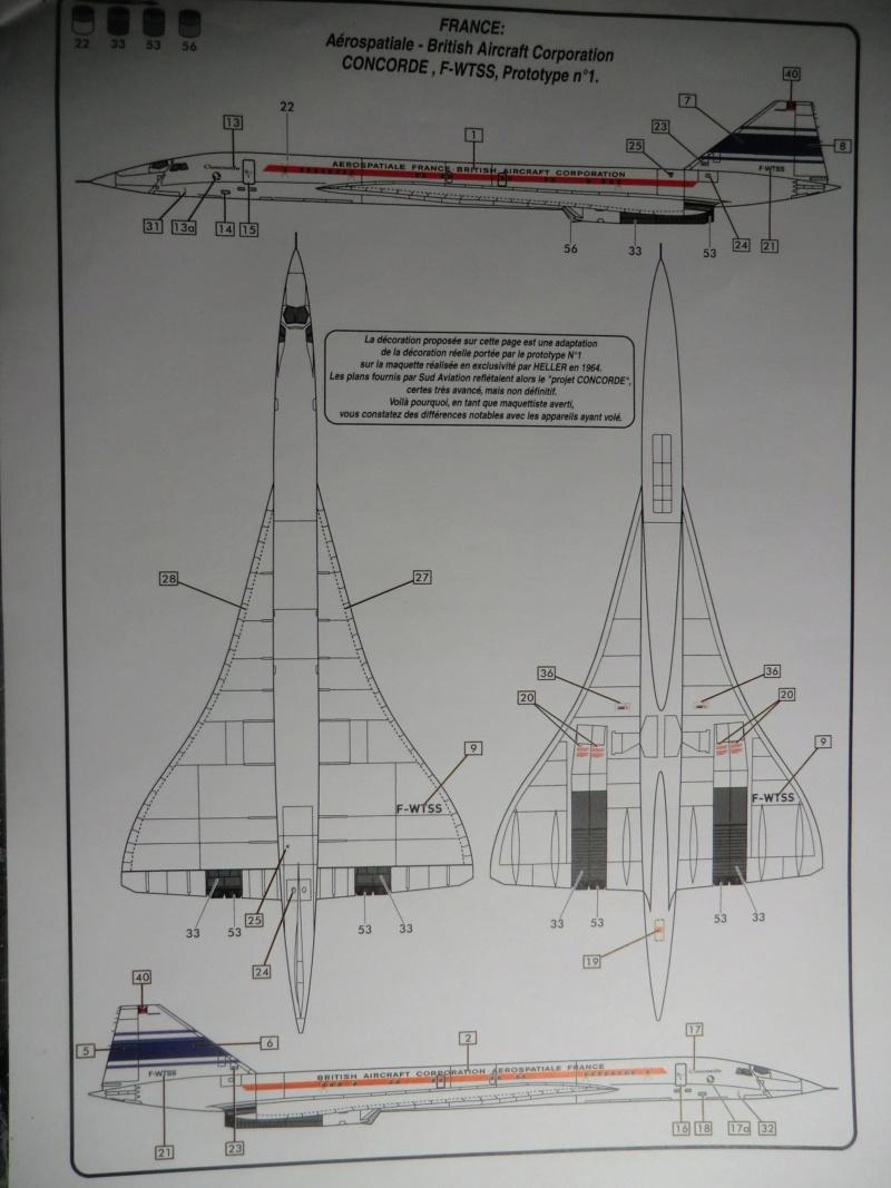 """[1/100]Concorde 001 -ref 52324 coffret """"la légende HELLER"""" 1/100 Concor20"""