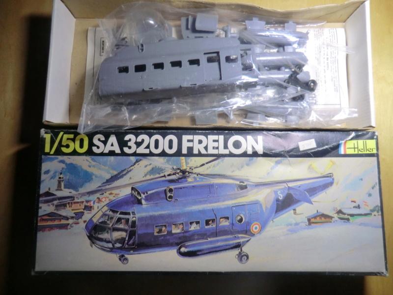 SNCASE SE 3200 FRELON 1/50ème Réf 325 Frelon16
