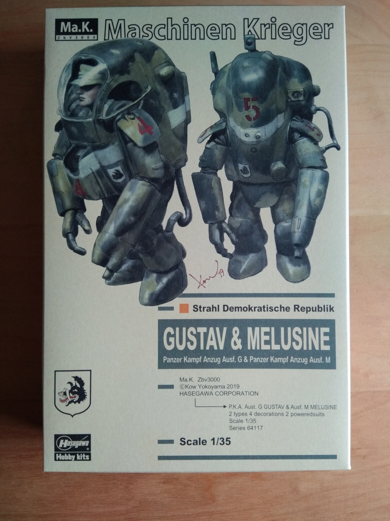 [HASEGAWA] Machine de guerre GUSTAV & MELUSINE 1/35ème Réf 64117 Gustav37