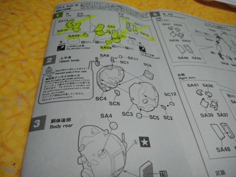 [HASEGAWA] Machine de guerre GUSTAV & MELUSINE 1/35ème Réf 64117 - Page 2 Gustav77