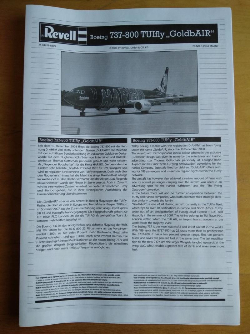 [REVELL] BOEING 737-800 Cie TUIfly 1/144ème Réf 04268 Ju_00310