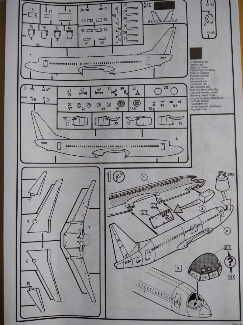 [REVELL] BOEING 737-800 Cie TUIfly 1/144ème Réf 04268 Ju_00510