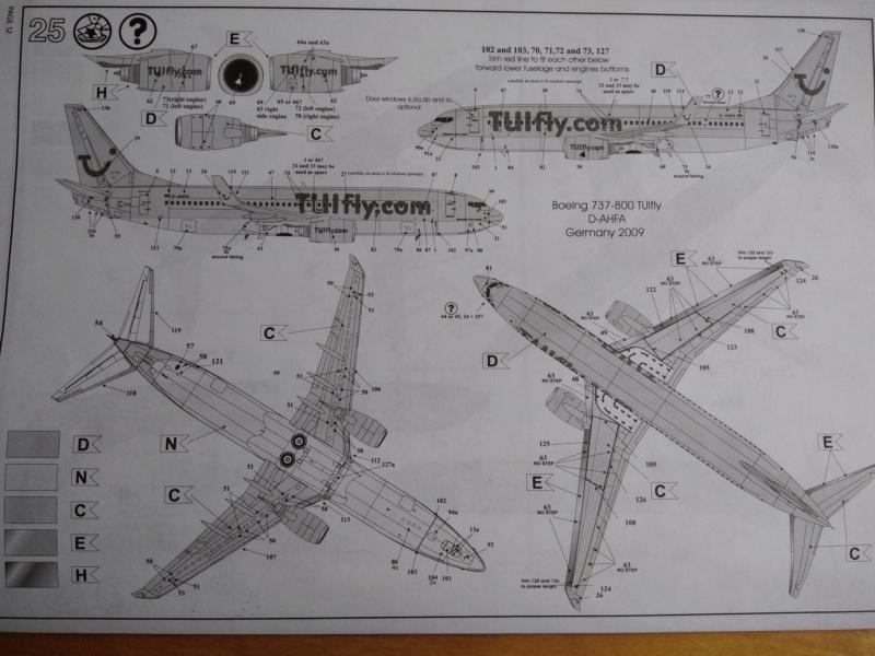 [REVELL] BOEING 737-800 Cie TUIfly 1/144ème Réf 04268 Ju_01210