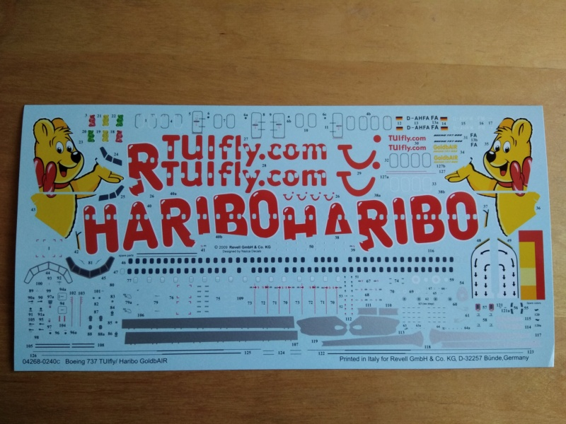[REVELL] BOEING 737-800 Cie TUIfly 1/144ème Réf 04268 Ju_01410