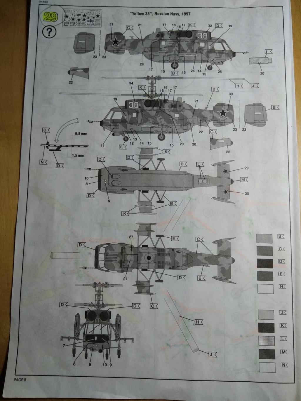 [REVELL] KAMOV  Ka-29 ,Marine 1/72ème Réf 04493  Ka-29_42