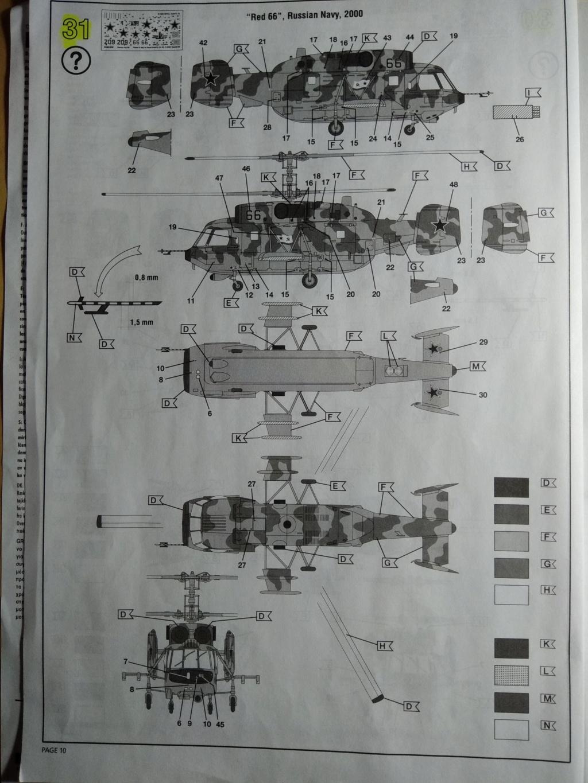 [REVELL] KAMOV  Ka-29 ,Marine 1/72ème Réf 04493  Ka-29_44
