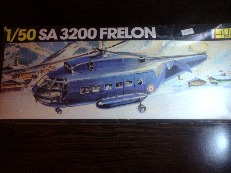 SUD AVIATION SE 3200 FRELON 1/50ème Réf L325 - Page 3 M_08211