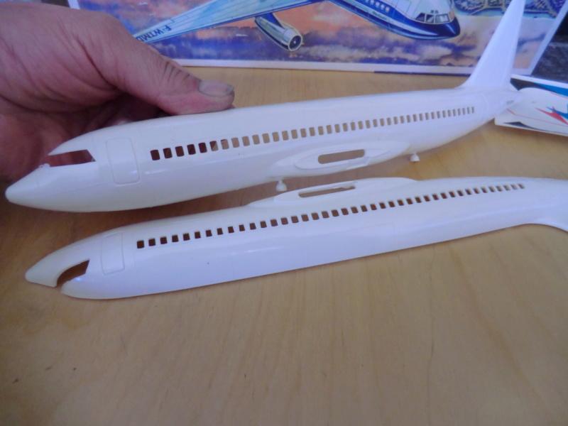 Mercure 1/100 Flugzeug-Modellbaukasten Mercur10