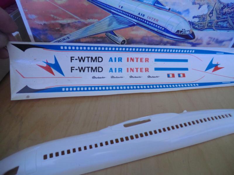 Mercure 1/100 Flugzeug-Modellbaukasten Mercur11