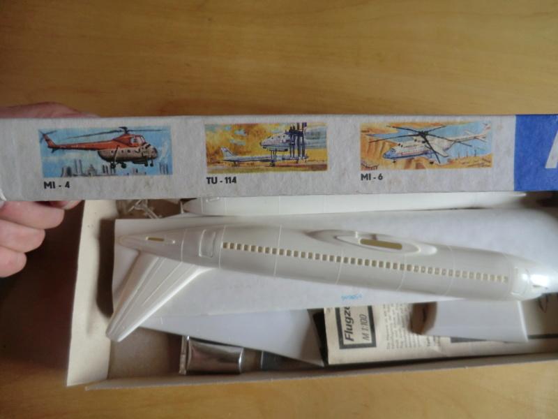 Mercure 1/100 Flugzeug-Modellbaukasten Mercur22